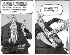 Stuart Carlson Editorial Cartoon, August 24, 2016     on GoComics.com