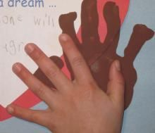 Celebrating Martin Luther King Day in preschool