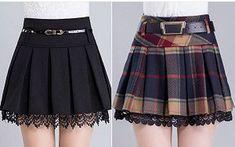 DIY - molde, corte e costura - Marlene Mukai Little Girl Skirts, Skirts For Kids, Fashion Kids, How To Make Skirt, Handmade Skirts, Skirt Patterns Sewing, Pattern Skirt, Winter Skirt, Online Shopping Clothes