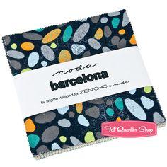 Barcelona Charm Pack Zen Chic for Moda Fabrics