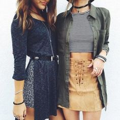 I might try my striped shirt, safari jacket and mustard jeans together, similar to outfit on right.