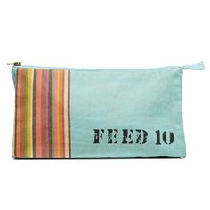 FEED Kenya pouch, handmade by Kenyan artisans using traditional kikoy fabric. Top Gifts, Best Gifts, Gifts For Him, Gifts For Women, Feed Bags, Cheap Gifts, Inexpensive Gift, Womens Workout Outfits, Simple Gifts