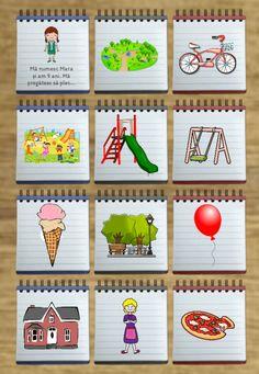 Cutiuța cu povești: În parc - Logorici Advent Calendar, Coasters, Holiday Decor, Logo, Park, Logos, Advent Calenders, Coaster, Environmental Print
