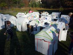 Express yourself event - kids decorated their Fort Cube's with their favorite things! Kids Decor, Cube, Favorite Things, Community, Travel, Products, Voyage, Viajes, Traveling