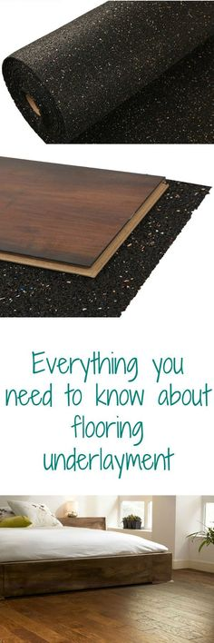 Everything you need to know about flooring underlayment Your questions answered! The Effective Pictures We Offer You About bamboo flooring outdoor A quality picture can tell you many things. Home Gym Flooring, Cork Flooring, Rubber Flooring, Basement Flooring, Vinyl Flooring, Laminate Flooring, Flooring Ideas, Rubber Floor Mats, Engineered Hardwood Flooring