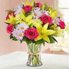 Our best-selling seasonal bouquet is inspired by the traditional hand tied arrangements found in flower markets throughout Europe. Beautiful Flower Arrangements, Floral Arrangements, Beautiful Flowers, Flower Arrangements In Baskets, Beautiful Images, 800 Flowers, Types Of Flowers, Prom Flowers, Glass Flowers