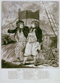 Tom Truelove's Knell (caricature) - National Maritime Museum