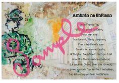 Colour PDF printable The lyrics of Ámhrán Na bhFiann on the backdrop of the GPO. Teacher Pay Teachers, Poems, Lyrics, Printables, Poetry, Print Templates, Song Lyrics, Verses, Music Lyrics