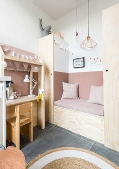 Rustic Southwest Decor How to Decorate Kids Room with Pink: 6 Ideas to Try.Rustic Southwest Decor How to Decorate Kids Room with Pink: 6 Ideas to Try Girls Bedroom, Bedroom Decor, Bedroom Ideas, Dressing Room Design, Little Girl Rooms, Kid Spaces, Toddler Bed, Home Decor, Kids Rooms