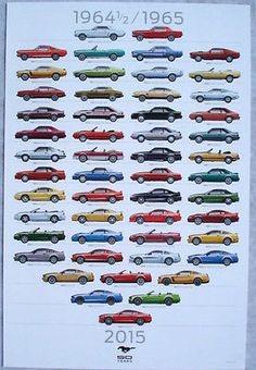 2015-Ford-Mustang-50th-Anniversary-Poster-Special-Dealer-Promotional-Item