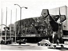 El Teatro Insurgentes en 1968.