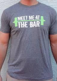 SoRock Shop Men's Meet Me at the Bar WOD T-Shirt