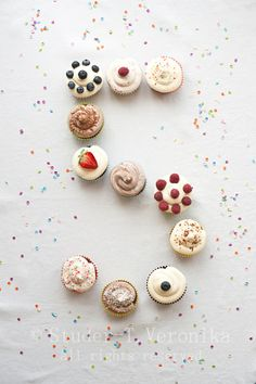 Birthday cupcakes by StuderV, via Flickr