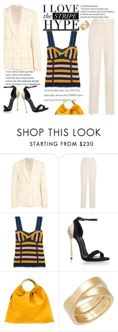 """""""Untitled #2295"""" by anarita11 ❤ liked on Polyvore featuring Hillier Bartley, Steve J & Yoni P, Casadei and VANINA"""