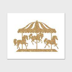 Carousel Horses Silhouette Carousels Carousel Horses