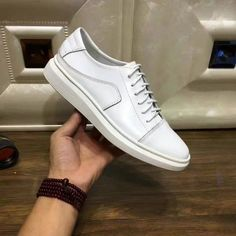 Prada Calf Leather Sneaker