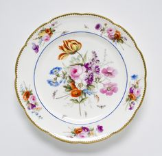 Made by the Nantgarw porcelain factory, Nantgarw, Wales, 1813 - 1822. Decorated by William Billingsley, English, 1758 - 1828.