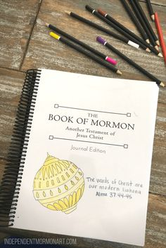 book of mormon printable free