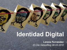 Identidad Digital Lorena Fernández