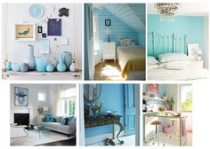 Blue Interior for Summer