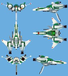 /by nnenn #flickr #LEGO #starfighter