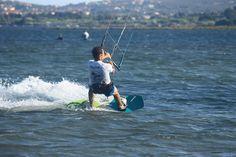Kitesurfing Punta Trettu Sardinia August 2014