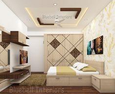 Living Room Partition Design, Room Partition Designs, Bedroom False Ceiling Design, Bedroom Furniture, Bedroom Decor, Bedroom Interiors, Bed Design, Design Bedroom, Shutter Designs