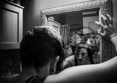 •Final Project 3/4• https://www.facebook.com/MelanieWebberArt #photography #digital #design #manipulation #schizofrenia #schizophrenic #multiplepersonalities #black