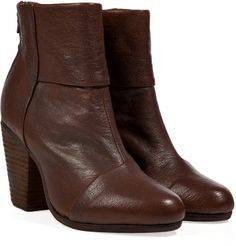 Rag and Bone Leather Classic Newbury Ankle Boots in Brown on shopstyle.com
