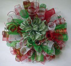 Poly Deco Mesh Wreath!  Gorgeous!