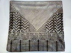 1920s Assuit Silver Mesh  Wrap