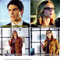 Arrow - Felicity & Ray #3.11 #Season3