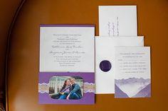 紫色の招待状|ジェイミー·ザノッティの写真|グラマー&グレイス