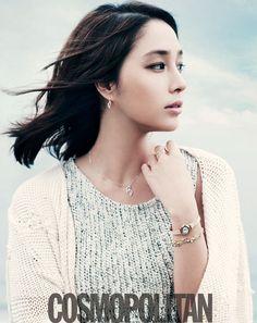 Lee Min Jung for Cosmopolitan Korea April 2012
