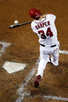 Bryce Harper - San Diego Padres v Washington Nationals