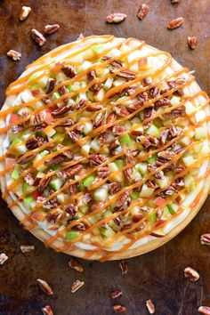 View This Healthy Recipes: Caramel Apple Fruit Pizza Sugar Cookie Pizza, Cookie Crust, Kitchen Recipes, Cooking Recipes, Healthy Recipes, Cooking Tips, Apple Fruit, Fruit Fruit, Fruit Slime