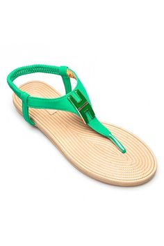 Idol รองเท้าแตะส้นแบน รุ่น QQ898-3 – Green | LAZADA THAILAND created by #ShoppingIS
