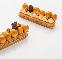 340 mentions J'aime, 6 commentaires – Julien Perrinet, Pastry Chef (@julien_perrinet) sur Instagram : « The Saint honoré Dulcey caramel hazelnut is back today @grandhyatttpe Only in baguette cake shop!… »