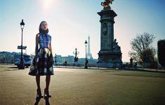 Marine Deleeuw by Serge Leblon for Bergdorf Goodman Magazine Pre Fall 2014 10