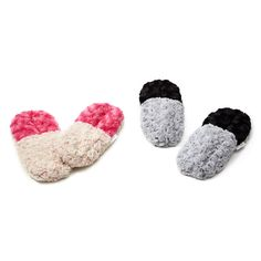 Two Toned Herbal Slippers--perfect for a chilly fall night!