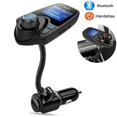 [Visit to Buy] Bluetooth Car Kit Handsfree Wireless Bluetooth Music FM Transmitter USB Charger Adapter Kit For Fiat Audi Ford Bmw VW Honda Jeep Bluetooth Car Kit, Mp3 Music Player, Charger Adapter, Car Audio, Sd Card, Usb, Cards, Black, Fiat