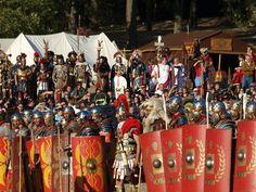 PACTUM ROMA 753: 25 MARZO ORE 9,00 - II ADDESTRAMENTO IN PREVISIONE DELLA BATTAGLIA DEL FORMAT AQUILA DI ROMA, QUESTA VOLTA LA GRANDE SORPRESA CI SARA' ANCHE LA CAVALLERIA ROMANA.......SPETTACOLARE