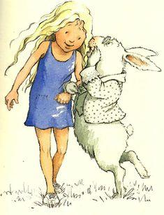 Helen Oxenbury 32 ilustrações de Alice no País das Maravilhas