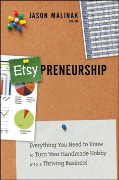Etsy-preneurship: Everything You Need to Know to Turn Your Handmade Hobby into a Thriving Business by Jason Malinak, http://www.amazon.com/dp/1118378385/ref=cm_sw_r_pi_dp_umxKpb1R23KQS
