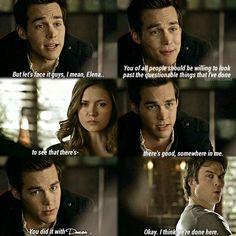 "#TVD 6x13 ""The Day I Tried To Live"" - Kai, Elena and Damon"