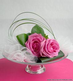 Decoracion de mesas: Centro de mesa para boda