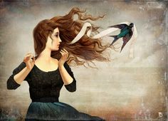 Chilean Visionary painter Christian Schloe work includes digital art, painting, illustration and photography.