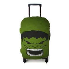 Hulk Face Avengers Disney Luggage Cover – Etsyenvy Disney Luggage, Luggage Cover, Hulk, Suitcase, Avengers, Make It Yourself, Face, Pattern, Patterns