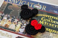 Crochet Mouse Magnets FE gifts