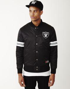 buy online 24049 87b84 Majestic Athletic Elmwood Satin Jacket   Shop men s clothing at The Idle Man